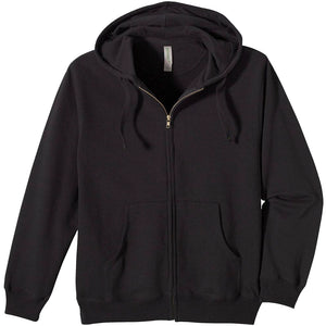 Black hen Unisex Zip-up Hoodie