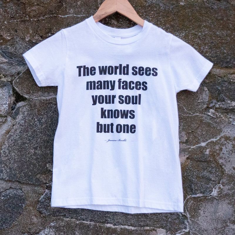 The world sees - children's T-shirt