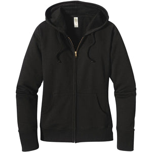 Black hen Women's Zip-up Hoodie