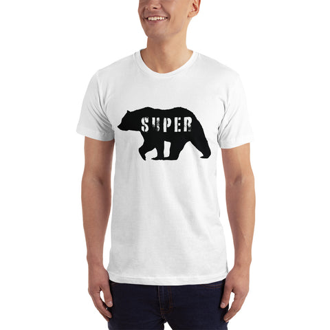 SuperBear Black Bear American Apparel T-Shirt