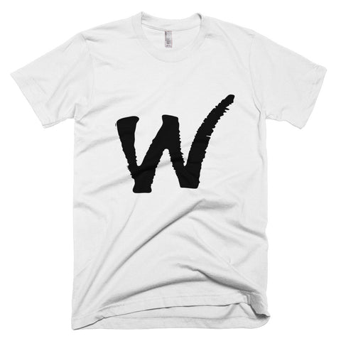 W Logo Mens Short-Sleeve T-Shirt