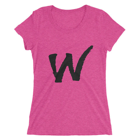 W Logo Ladies' short sleeve t-shirt