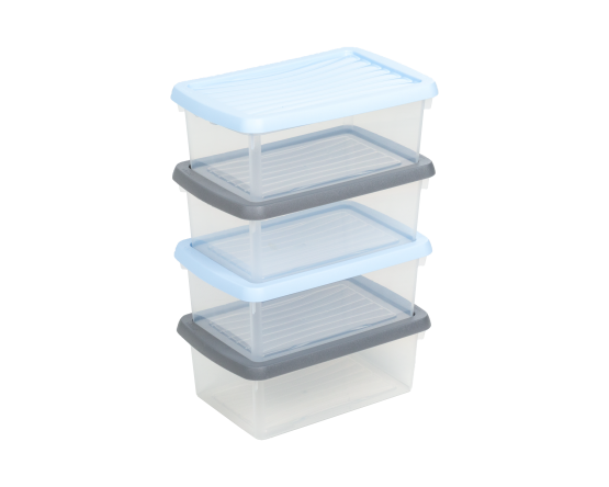 What More UK | 3.5L Storage Boxes - Set of 4