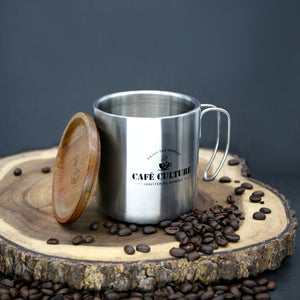 Café Culture Double Walled Mug