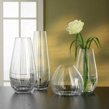 Load image into Gallery viewer, Bohemia Crystal | Waterfall Vase, 7""