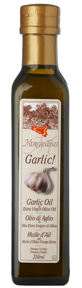 Morgantino | Evo Garlic Olive Oil (250mL)