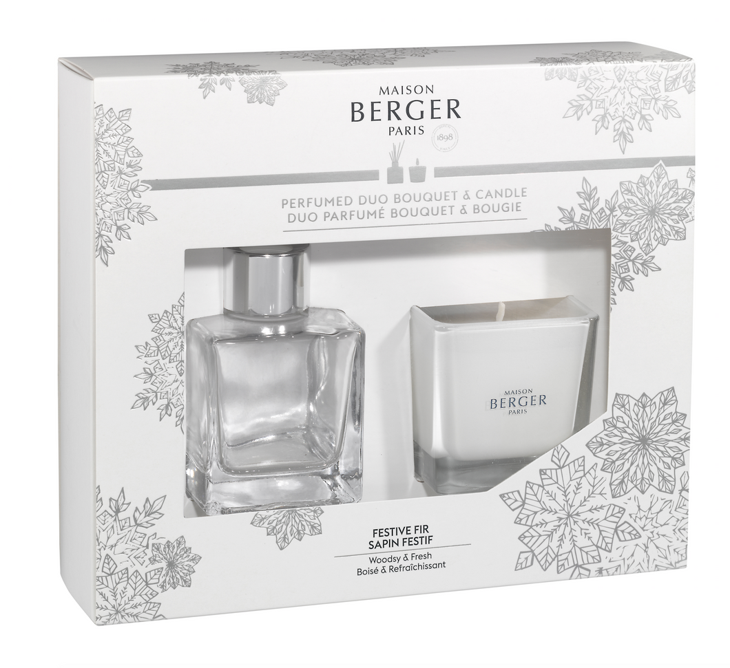 Maison Berger Paris | Mini Duo - Bouquet & Candle – FESTIVE FIR