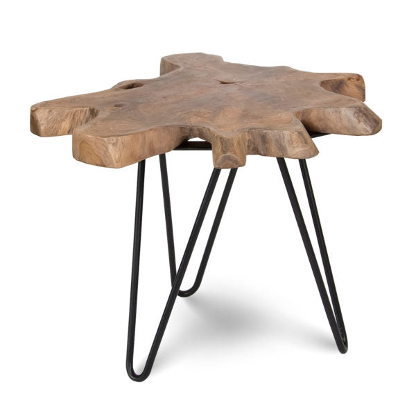 Natura Hairpin Small Nesting Table