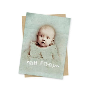 Papaya Art | Oh Poop Mini Card
