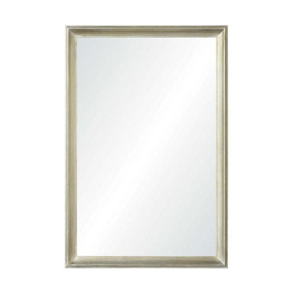 Luxe Curated | Gaspar Champagne Silver Leaf Mirror