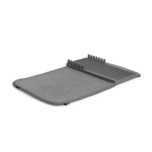 Umbra | Mini Drying Rack with Mat, Charcoal