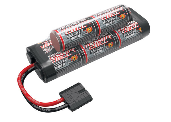 Traxxas Battery, Series 5 Power Cell, 5000mAh (NiMH, 8-C hump, 9.6V)