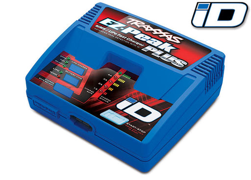 Traxxas Charger, EZ-Peak Plus, 4 amp, NiMH/LiPo with iD Auto Battery Identification