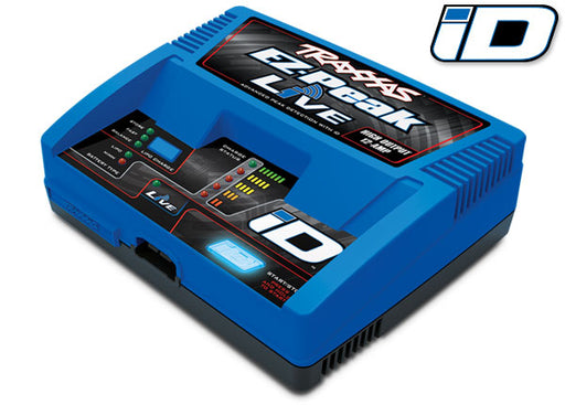 Traxxas Charger, EZ-Peak Live, 100W, NiMH/LiPo with iD Auto Battery Identification