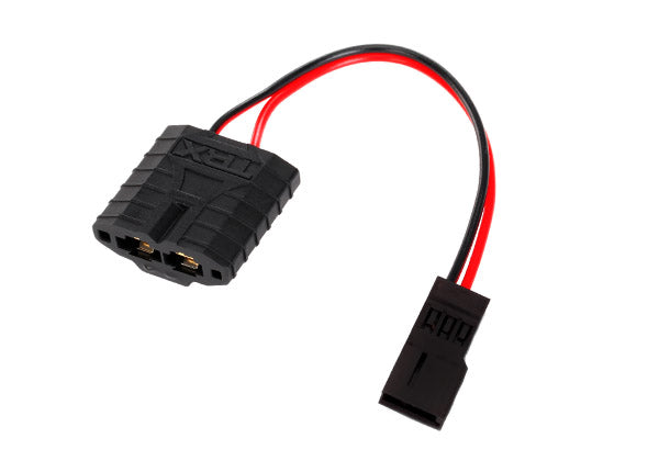 Traxxas Adapter, Traxxas High Current Connector female to Traxxas receiver battery (for charging) (1)