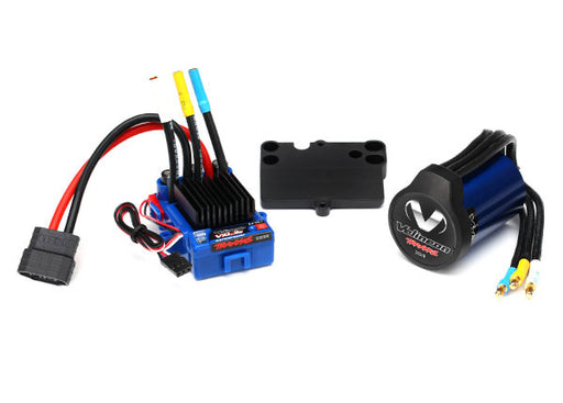 Traxxas Velineon VXL-3s Brushless Power System, waterproof (includes VXL-3s waterproof ESC, Velineon 3500 motor, and speed control mounting plate (part #3725))