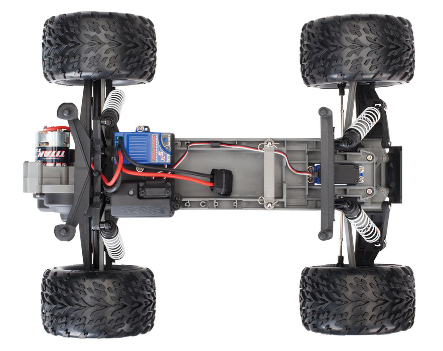Traxxas Stampede: 1/10 Scale Monster Truck with TQ 2.4GHz radio system, Red X