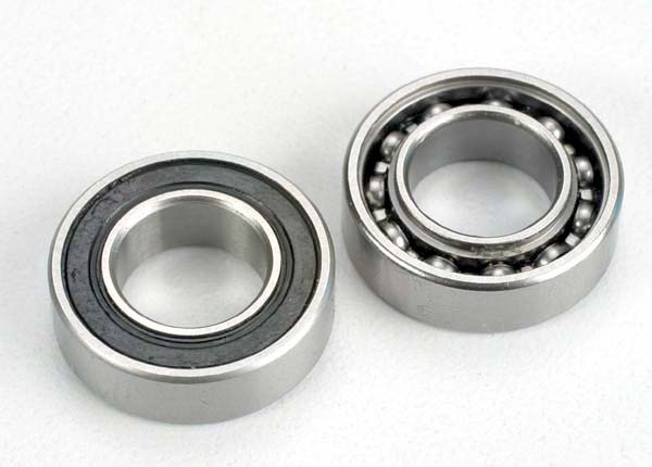 Traxxas Ball Bearings, crankshaft, 9x17x5mm (front  and  rear) (2)