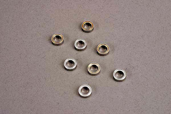 Traxxas Ball bearings (5x8x2.5mm) (8) (for wheels only)