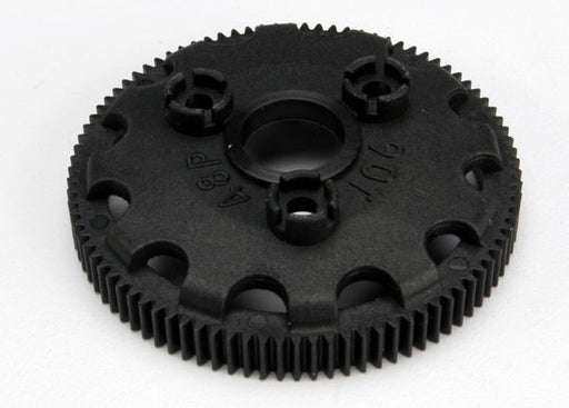 Traxxas Spur gear, 90-tooth (48-pitch) (for models with Torque-Control slipper clutch)