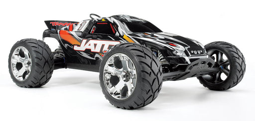 Traxxas Jato 3.3:  1/10 Scale 2-Speed Nitro 2WD Stadium Truck TQi , Traxxas Link Wireless Module, TSM Red