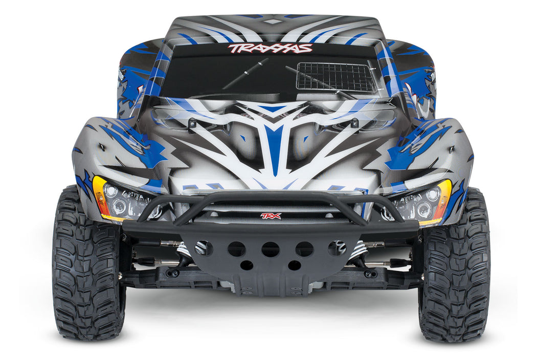 Traxxas Slash: 1/10-Scale 2WD Short Course Racing Truck with TQ 2.4GHz radio system, Blue