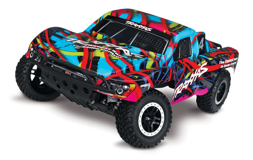 Traxxas Slash VXL:  1/10 Scale 2WD Short Course Racing Truck with TQi & TSM, Hawaiian