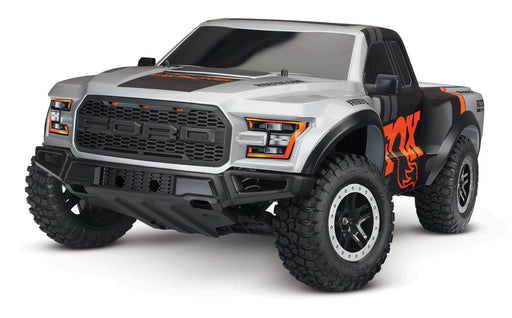 Traxxas Ford F-150 Raptor: 1/10-Scale Ford F-150 Raptor TQ 2.4GHz Fox Edition