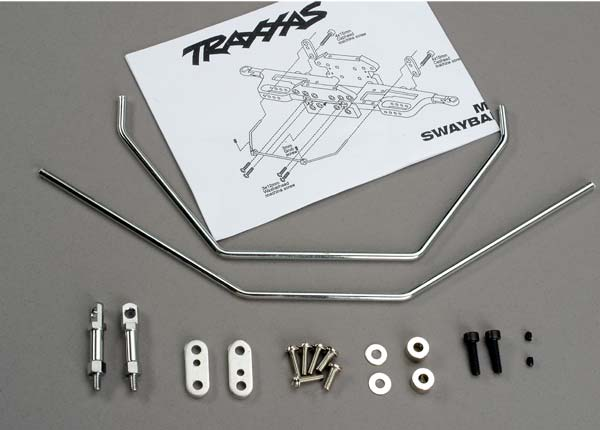 Traxxas Anti-sway bars (front  and  rear) w/ hardware