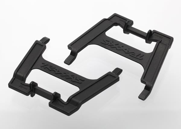 Traxxas Battery hold-downs, tall (2) (allows for installation of taller, multi-cell batteries)