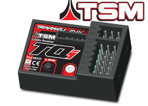 Traxxas Receiver, micro, TQi 2.4GHz with telemetry  and  TSM (5-channel)