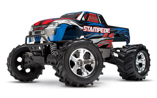 Traxxas Stampede 4X4: 1/10-scale 4WD Monster Truck, Blue