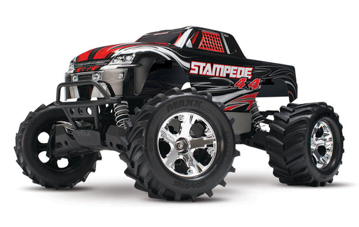 Traxxas Stampede 4X4: 1/10-scale 4WD Monster Truck, Black