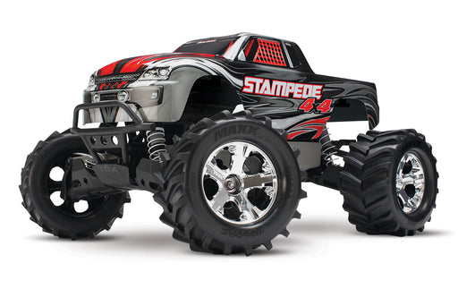 Traxxas Stampede 4X4: 1/10-scale 4WD Monster Truck, Silver