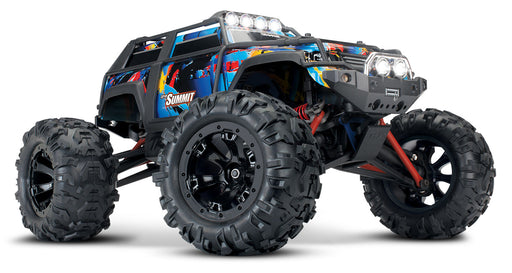 Traxxas Summit: 1/16-Scale 4WD Electric Extreme Terrain Monster Truck with TQ 2.4GHz radio system