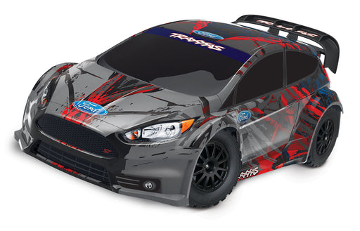 Traxxas Ford Fiesta® ST Rally:  1/10 Scale Electric Rally Racer with TQ 2.4GHz radio system