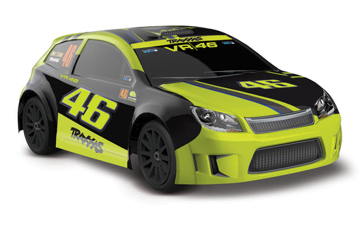 Traxxas LaTrax Rally: 1/18 Scale 4WD Electric Rally Racer VR 46 Special Edition