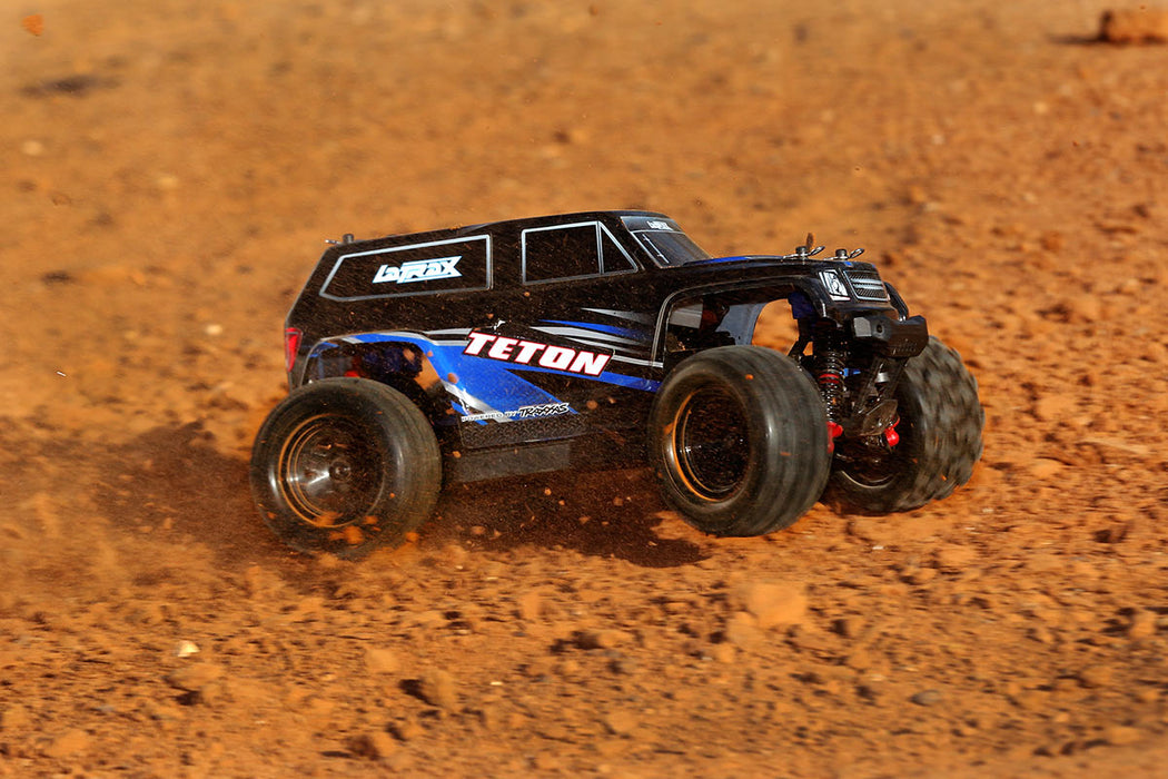 Traxxas LaTrax Teton: 1/18 Scale 4WD Electric Monster Truck Green