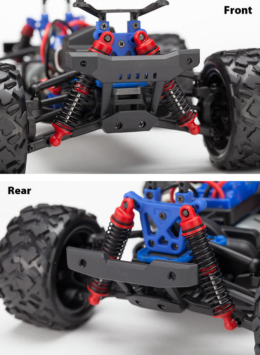 Traxxas LaTrax Teton: 1/18 Scale 4WD Electric Monster Truck Blue