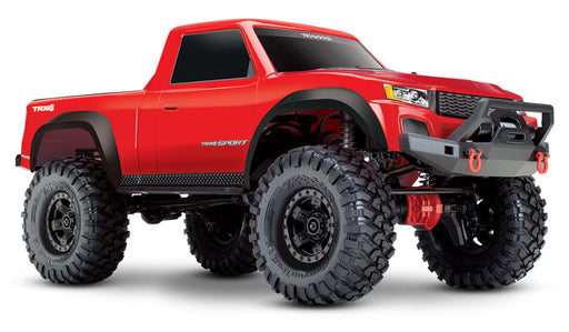 Traxxas TRX-4 Sport:  4WD Electric Truck with TQ 2.4GHz Radio System Red