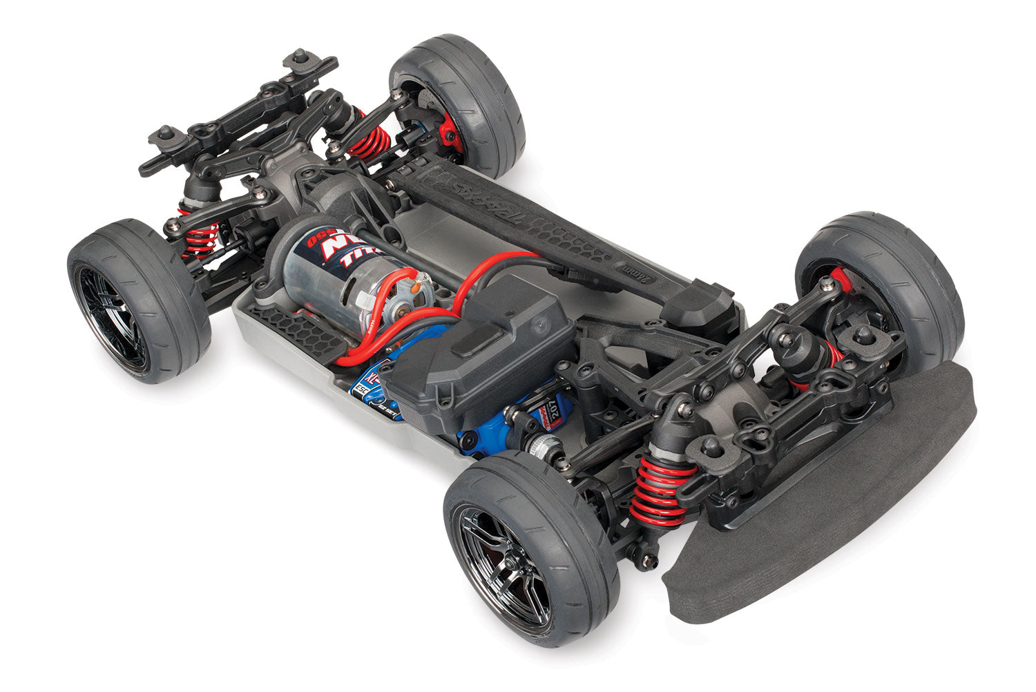 Traxxas 4-Tec 2.0: 1/10 Scale AWD Chassis with TQ 2.4GHz Radio System