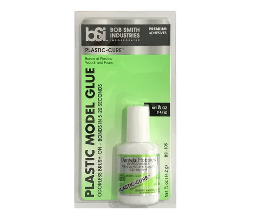 Bob Smith Industries PLASTIC-CURE 1/2 OZ. | RC Overstock