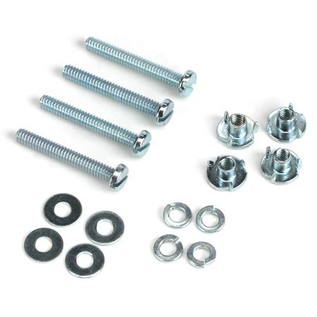 Dubro 125 Mounting Bolts & Nuts (4), 2-56 x 1/2