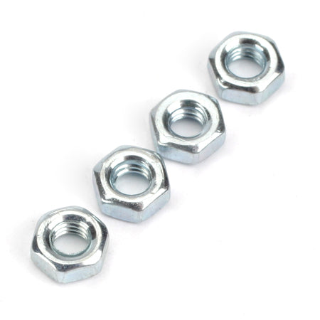 Dubro 2105 Hex Nuts,3mm