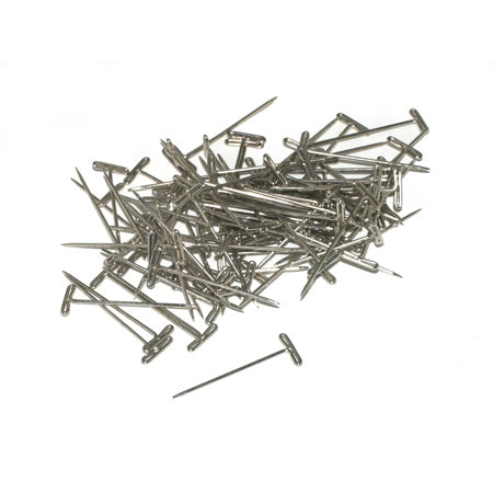 "Dubro 253 T-Pins, Nickel Plated, 1-1/4"" (100)"