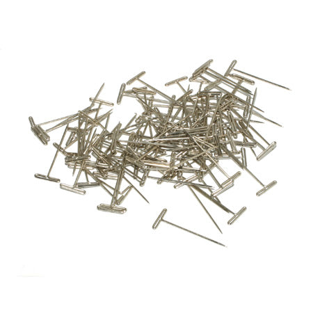 "Dubro 254 T-Pins, Nickel Plated, 1-1/2"" (100)"