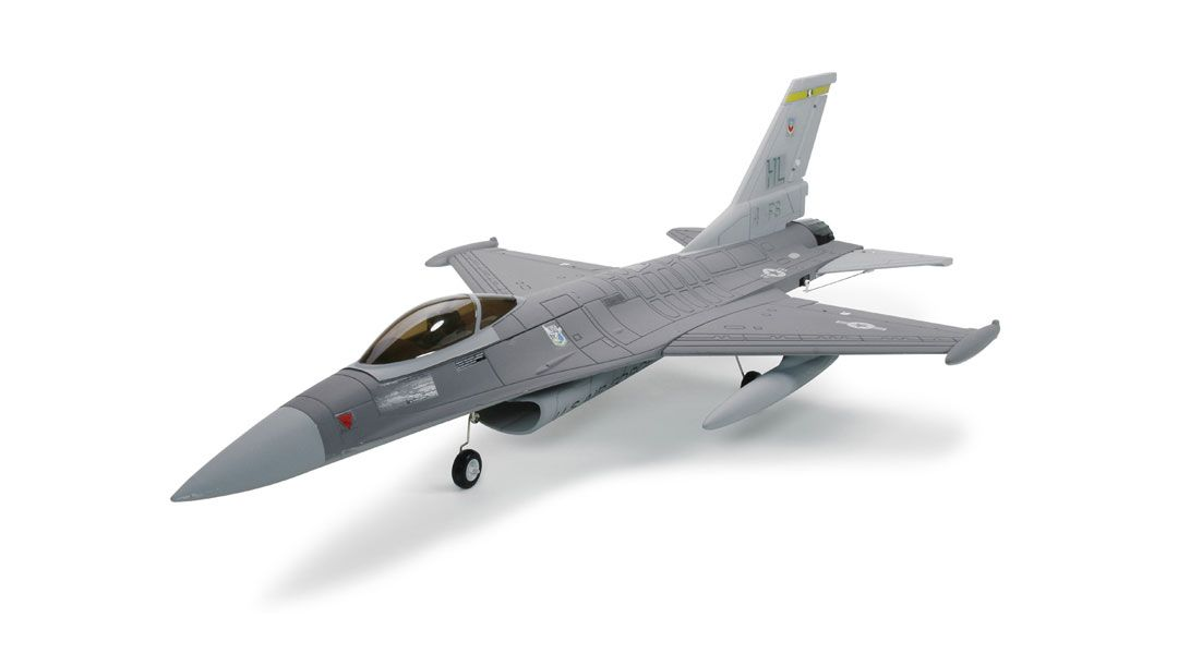 FMS F-16 Fighting Falcon 600mm EDF PNP: Grey