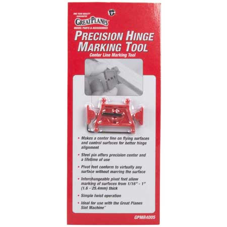 Great Planes GPMR4005 Precision Hinge Marking Tool