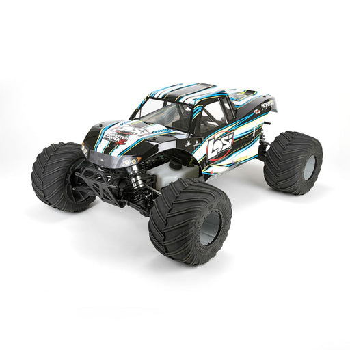 Losi 05009T1 Monster Truck XL RTR, AVC: 1/5 4WD (Black)