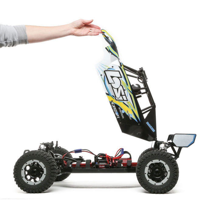 Losi 05012T2 Desert Buggy XL-E:1/5th 4wd Elec RTR Grey/Blue